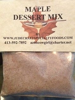 Maple Dessert Mix:  Fall Sale currently: If you love maple flavor you can now order this delicious dessert  for a Fall treat.