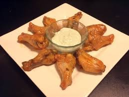 Enjoy Buffalo Wings while watching football