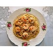 "Scampi dinner with Judi;s ""Original"" Garlic Butter"